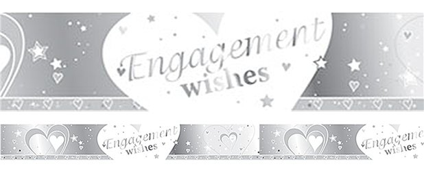 Loving Hearts Engagement Banner - 2.7m