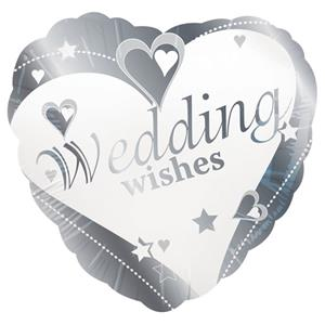 Loving Hearts Wedding Wishes Balloon - 18