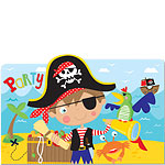 Little Pirate Invites - Party Invitation Cards