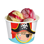 Little Pirate Ice Cream Tubs