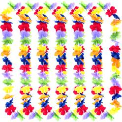 Hawaiian Leis - Rainbow Colour (box of 25)