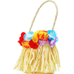 Grass Skirt Handbag - Hawaiian Accessories