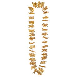 Gold Hawaiian Leis
