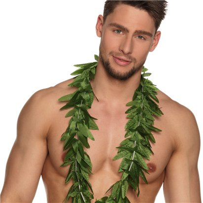 Hawaii Hawaiian Lei - Hawaiian Garlands - Summer Party Accessories left