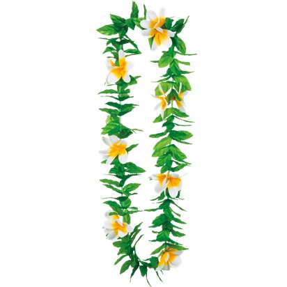 Lulani Hawaiian Lei - Hawaiian Garlands - Summer Party Accessories front