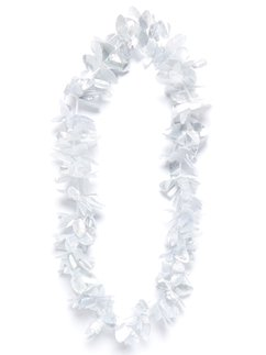 Silver Hawaiian Lei Garland (Luau Accessories)