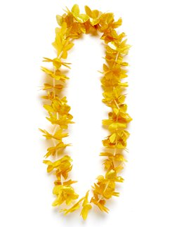 Gold Hawaiian Lei Garland