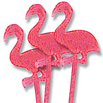 Flamingo Picks - 7.6cm