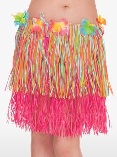 Adult Hula Grass Skirt - Multi