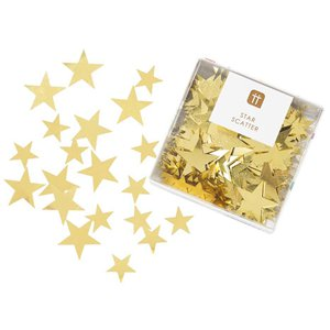 Luxe Gold Star Confetti Box