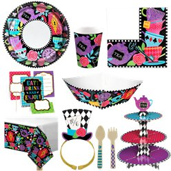 Mad Hatters Tea Party - Deluxe Pack