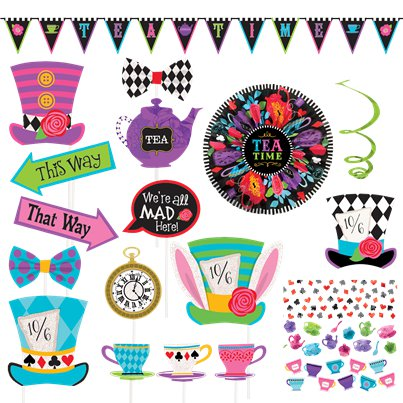 Mad Hatters Tea Party - Decorating Kit