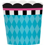 Mad Tea Party Scalloped Cupcake Cases