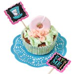 Mad Tea Party Cupcake Picks