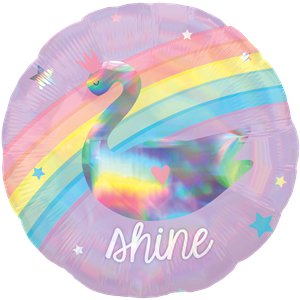 Magical Rainbow Holographic Balloon - 18