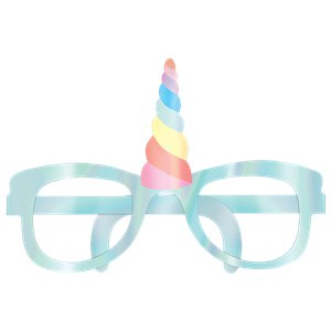 Magical Rainbow Iridescent Party Glasses