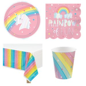 Magical Rainbow Party Pack - Value Pack For 8