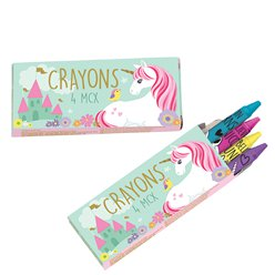 Magical Unicorn Crayons