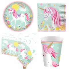 Magical Unicorn Party Pack - Value Pack For 8
