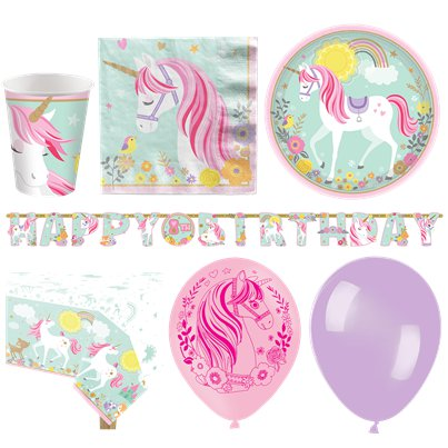 Magical Unicorn Deluxe Party Pack