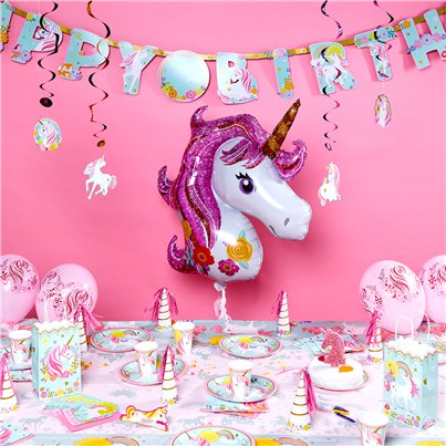 Magical Unicorn Deluxe Party Kit