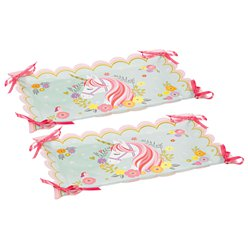 Magical Unicorn Paper Serving Trays