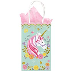 Magical Unicorn Glittery Paper Party Bags