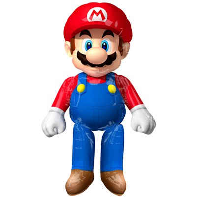"Super Mario Airwalker Balloon - 36"" x 60"""