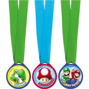 Super Mario Mini Award Medals