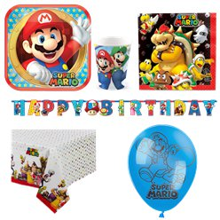 Super Mario Party Pack - Deluxe Pack for 8
