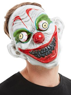 Clown Mask with Moving Eyes