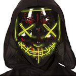 LED Stitched Smile Mask