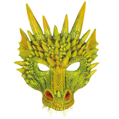 Dragon Half Face Mask front
