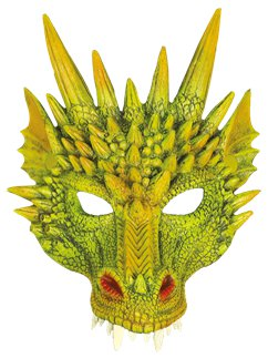 Dragon Half Face Mask