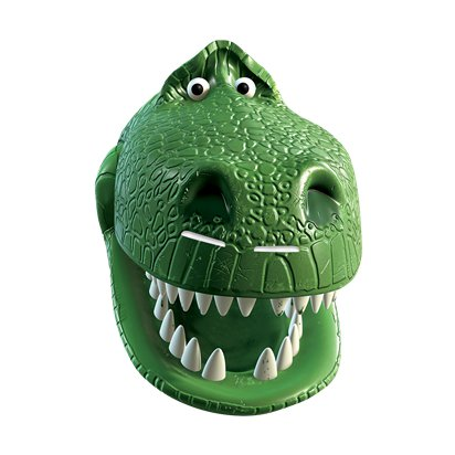 Rex Toy Story 4 Mask - Child Character Mask front