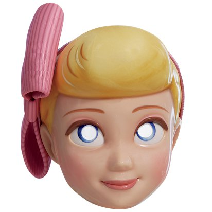 Bo Peep Toy Story 4 Mask - Child Character Mask front