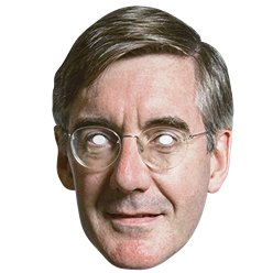 Jacob Rees-Mogg Mask