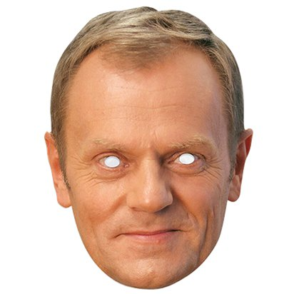 Donald Tusk Mask front