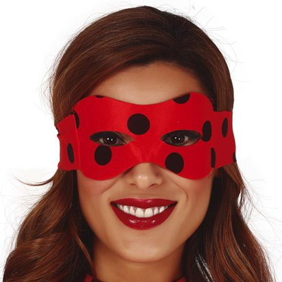 Ladybug Mask - Miraculous Ladybug Fancy Dress Accessory front