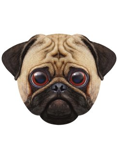 Giant Pug Dog Mask