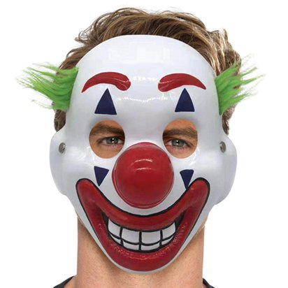 Clown Mask - Halloween Accessories front