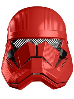 Adult Red Trooper Mask