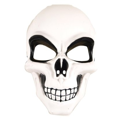 Skeleton Mask - Halloween Fancy Dress Accessories front