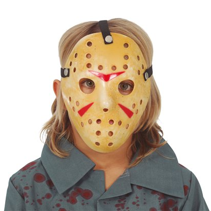 Hockey Mask - Child - Halloween Fancy Dress Accessories front