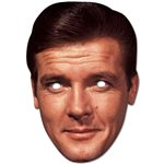 Roger Moore Mask