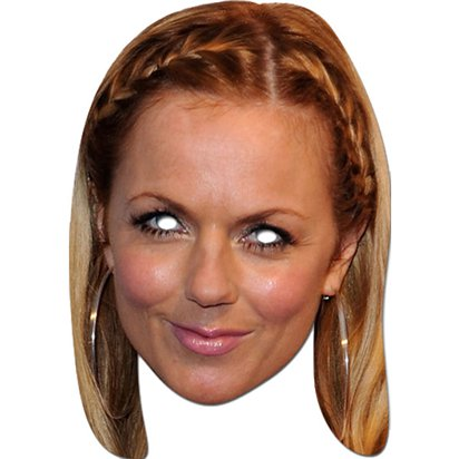 Geri Halliwell Mask - Celebrity Face Masks front