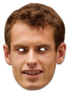 Andy Murray Mask
