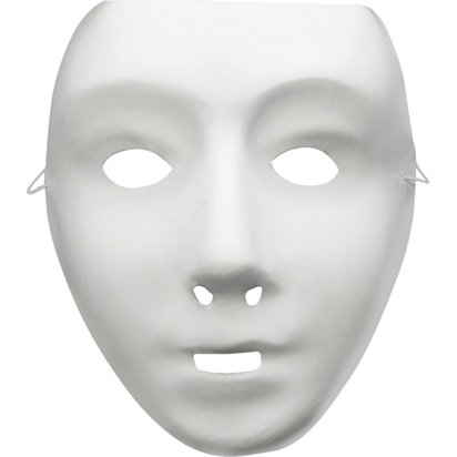 Robot Mask - Purge - Halloween Mask front