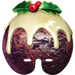 Christmas Pudding Mask