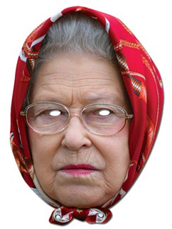 The Queen Headscarf Mask